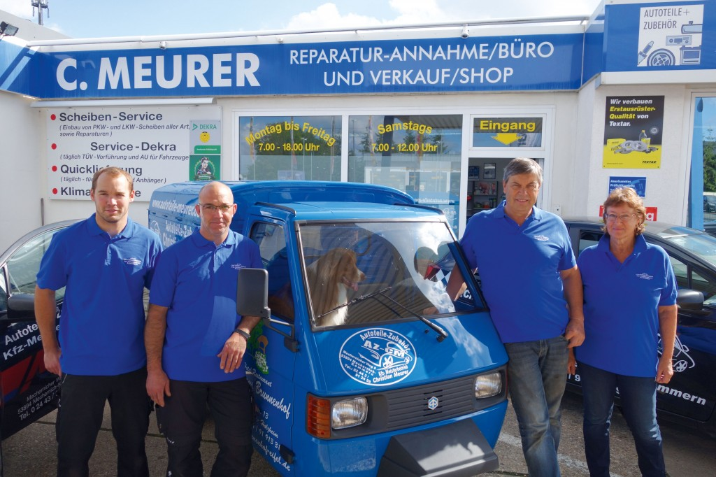 Meurer_Autoteile_Kommern_Team