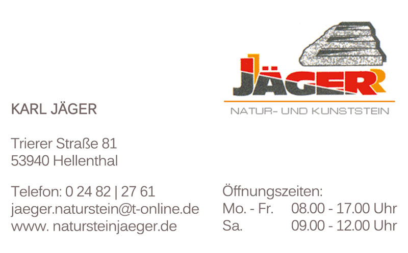 Naturstein-JägerAchtelQuerGE