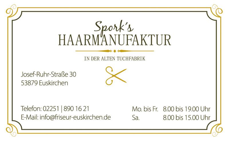 Spork-HaarmanufakturAchtelQuerGE