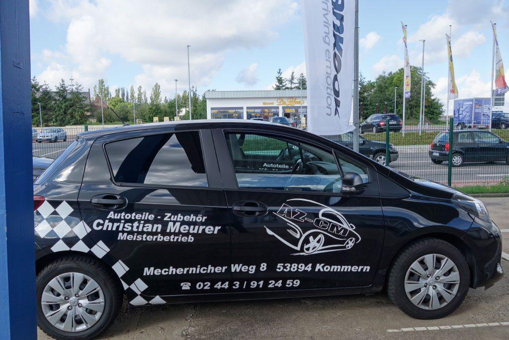 Meurer_Autoteile_Kommern_Werbung_Auto