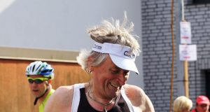 Running for Kids: Peter Borsdorff läuft sein Jahrzehnten, um für Kinder Spenden zu sammeln.