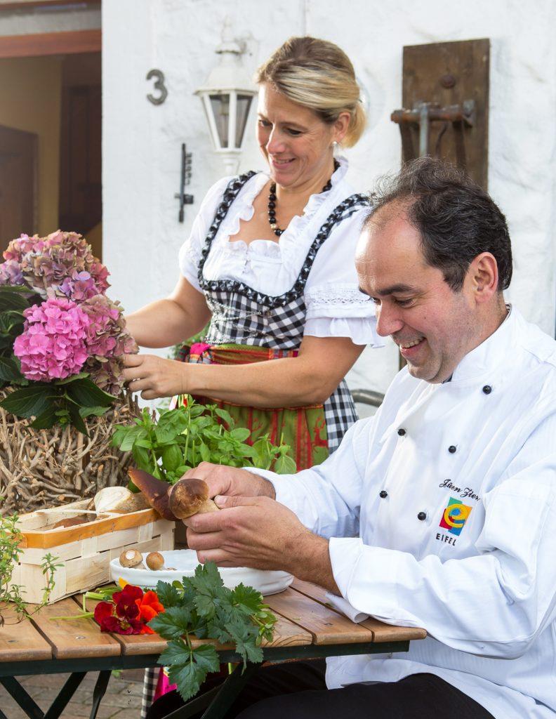 Rita und Jürgen Ziemons können stolz auf ihr Gut Marienbildchen sein.