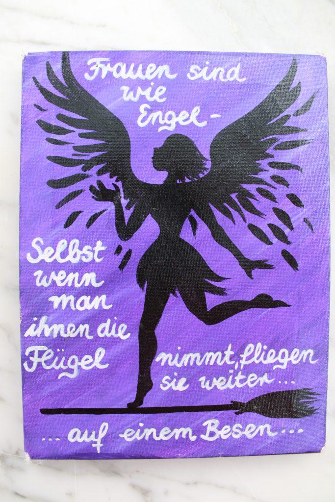 Weisheit zum Besenbinden: Frauen sind wie Engel