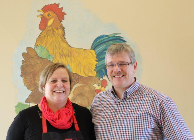 Cafe Em Höhnerstall: Das sind Cilia und Andreas Gentz