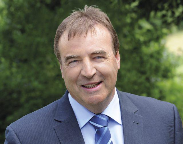Der Bürgermeister von Nettersheim Wilfried Pracht