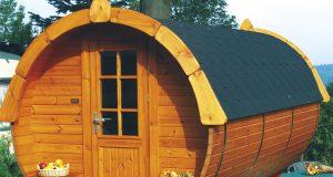 Camping Dickerscheid: Traumhaft schlafen im Holzfass hoch über der Eifel