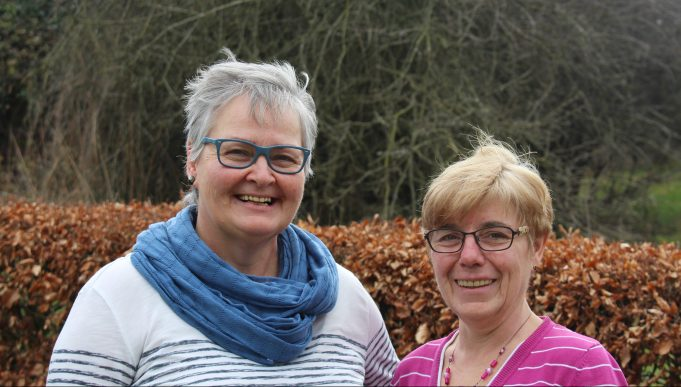 Elfriede Schneider und Erna Huppertz aus Nettersheim