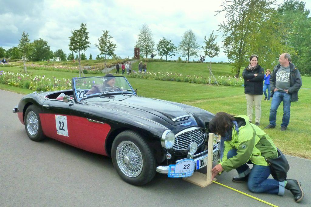 Bei den Garden Classics müssen Fahrer ihr Können bei verschiedenen Prüfungen unter Beweis stellen.