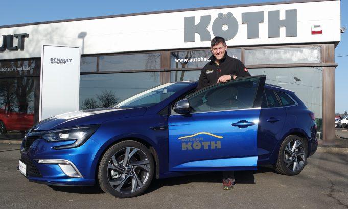 Christian Gehlen, neuer Inhaber des Autohauses Köth