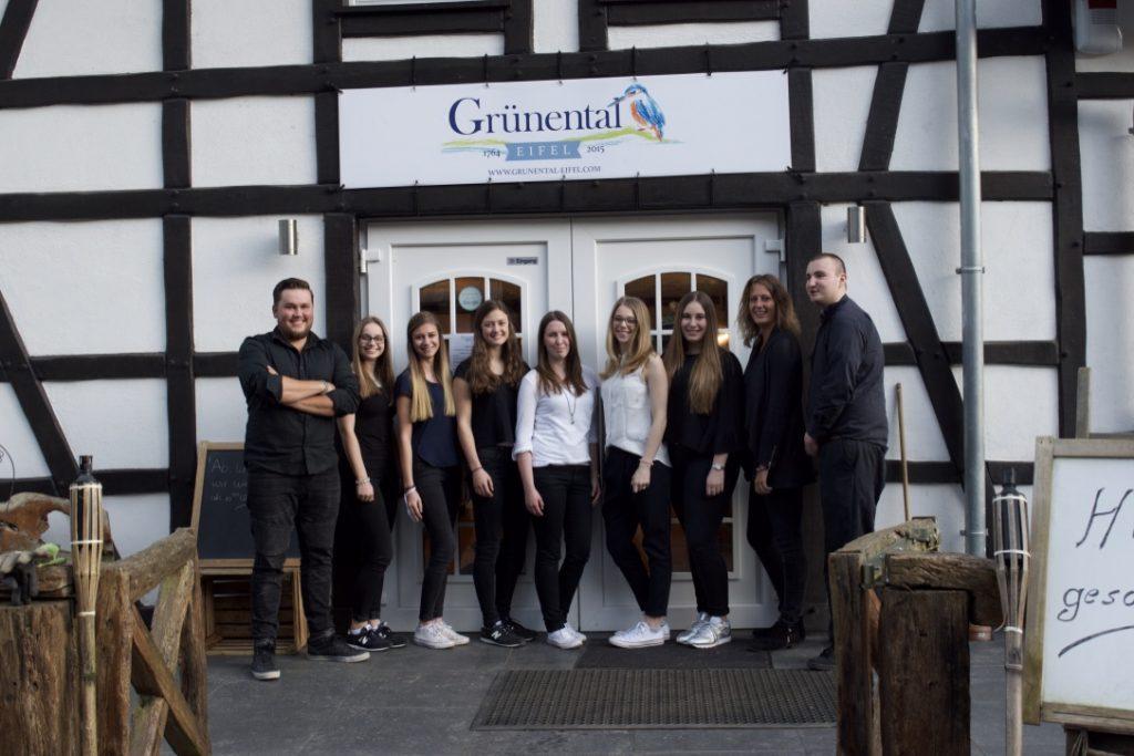 Seit 2015 verwöhnt das Team von Haus Grünental die Gäste an der Rur