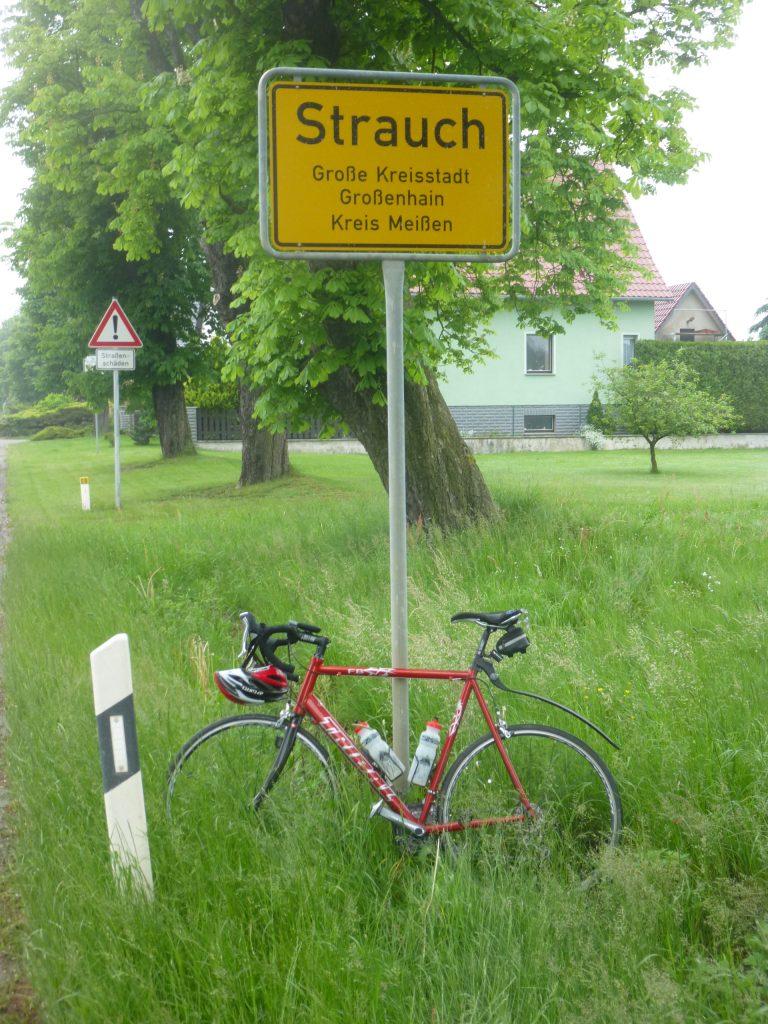 Radtour von Strauch nach Strauch