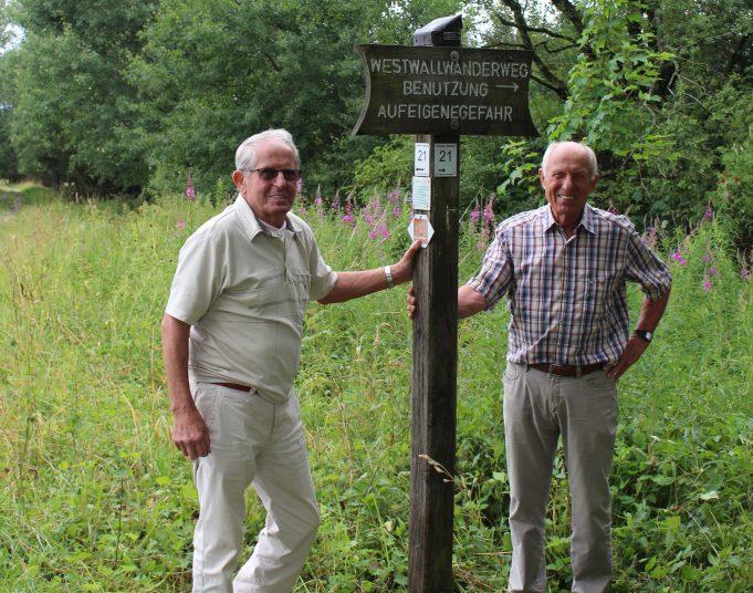Die Wegewarte Alfons und Siegfried Niessen