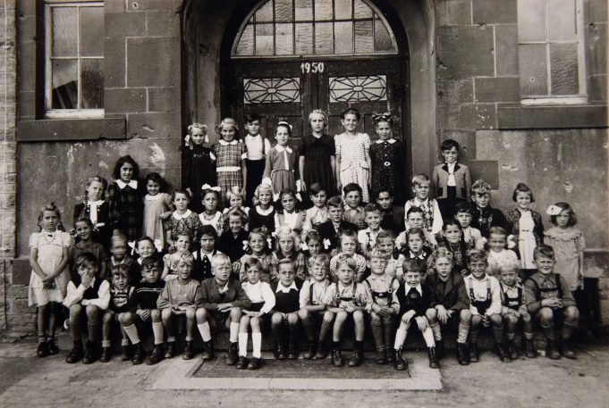 Manfred Schreiber: Die alte Schule in Imgenbroich