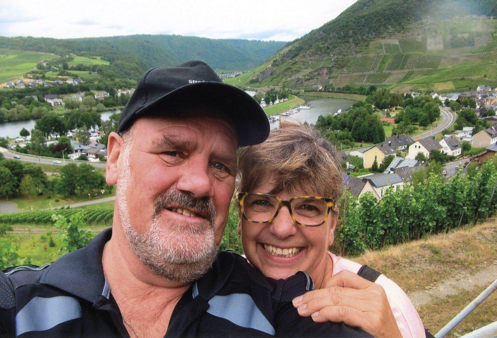 Josef Thar und Karin Peters auf großer Fahrt