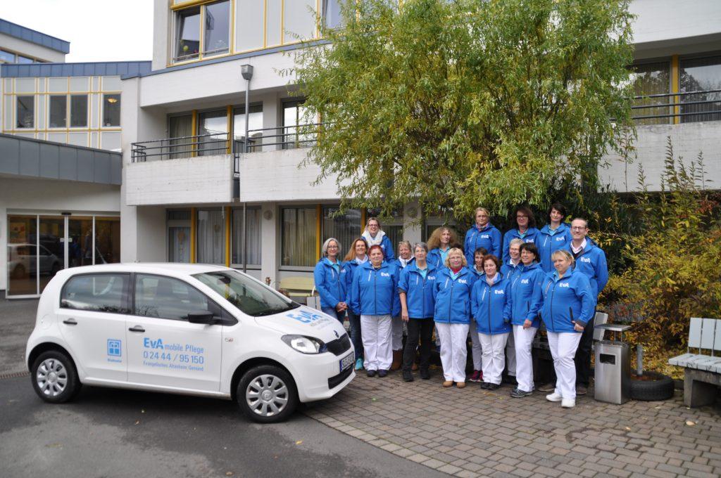 Das Team der Stiftung EvA