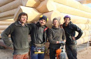 Das Team von Blockhaus Lindenlauf