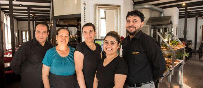 Das freundliche Team vom Restaurant Georgos