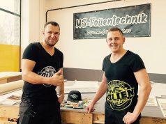 Mike Steffens und Markus Roder sind MS-Folientechnik