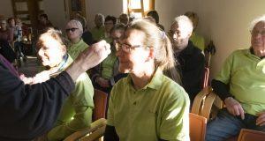 Die BSG Eifelhöhen-Klinik erhält das Aschenkreuz
