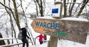 Die Warche-Tour als Schneewanderung