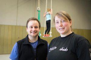 Jona Bastian Peters und Jennifer Thelen von Tatendrang e.V.