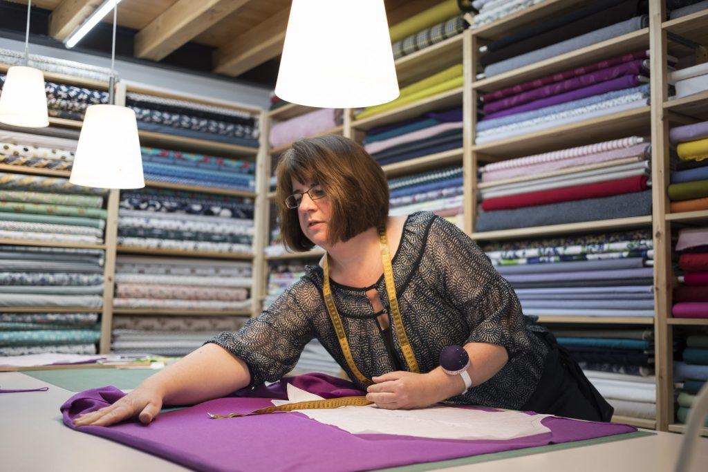 Bekanntes Terrain für Eifel Hero Bettina: Ihre Textilschmiede in Nettersheim