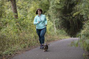 Training für den Eifel Hero mit Laufkumpeline Lina
