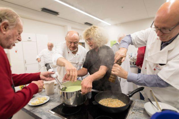 Die Gourmets kochen